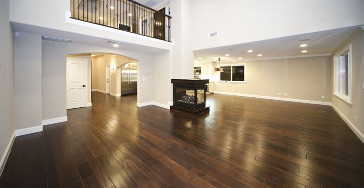 How to clean your hardwood floors the laue team for Homes with hardwood floors